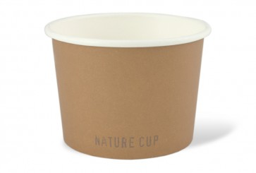 Nature soepkom PLA coated 16oz / 450 ml