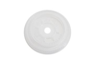 Platte kruisdeksel PLA voor bierglas