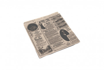 Hamburgerzakje groot, vetvrij kraft, TIMES 17 x 18 cm