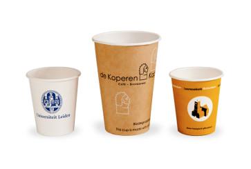 Koffiebeker, eigen bedrukking
