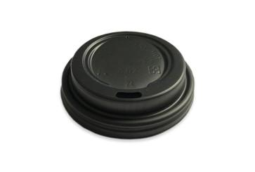 Deksel zwart CPLA t.b.v. koffiebeker 7oz / 210ml