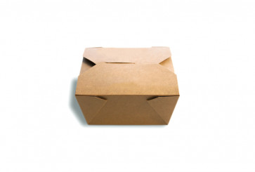 Lunchdoos, kraft neutraal