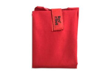 Herbruikbare sandwich wrap rood