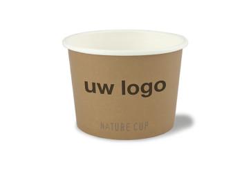 Nature soepkom PLA coated 8oz / 240 ml | EB
