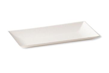 BioChic langwerpig bord 9 x 18 cm