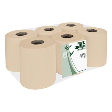 Papieren handdoekrol, Maxi, recycled, ecolabel, Feel Green