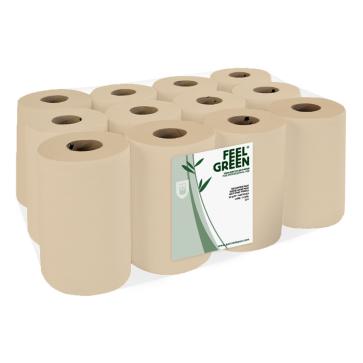 Papieren handdoekrol, Mini, gerecycled, ecolabel, Feel Green