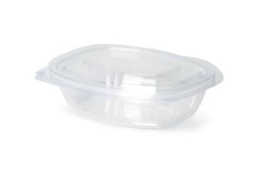 Saladebak met deksel PLA, 500ml