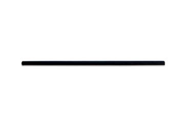 Papieren rietje zwart 20cm