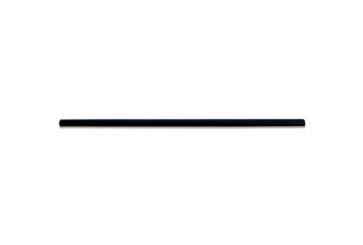 Papieren rietje zwart 14 cm
