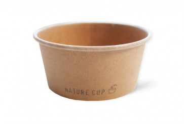 Nature ice cream cup 8oz / 240ml, kraft