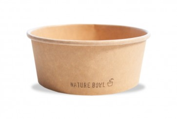 Salad / Poké bowl kraft - nature 24oz / 700ml