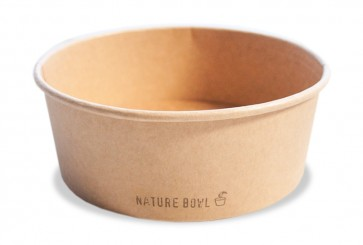Salad / Poké bowl kraft - nature 32oz / 950ml