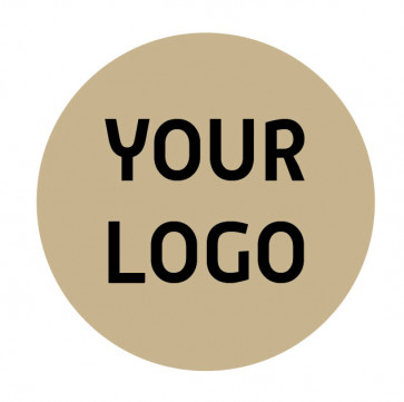 Composteerbare sticker | EB bruin 1 kleur