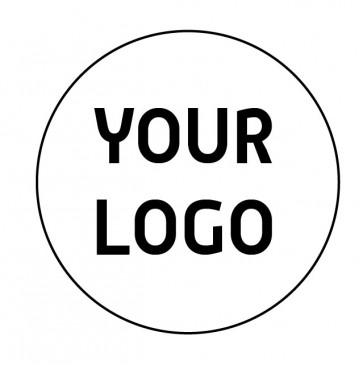 Composteerbare sticker | EB wit 1 kleur