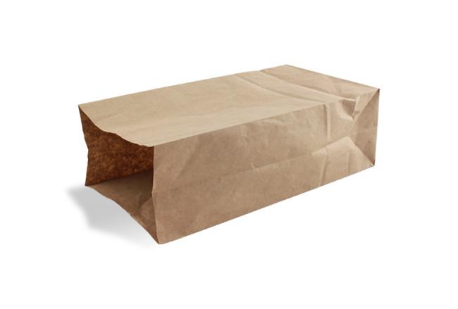 De Papieren Zak : Bruine papieren zak klein