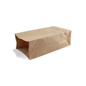 Bruine papieren zak, klein