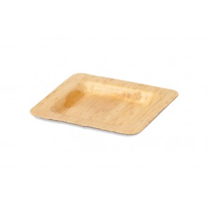 Bamboe bord 12 x 12 cm