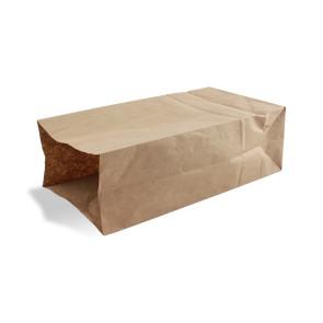 Bruine papieren zak, groot