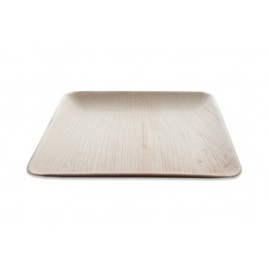 Palmblad bord vierkant 25 cm