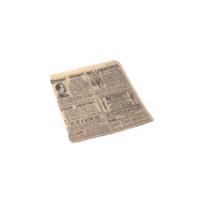 Hamburgerzakje middel, vetvrij kraft, TIMES 16 x 16.5 cm