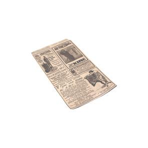 Zakje voor Taco / Crépe, vetvrij kraft, TIMES 13 x 22 cm