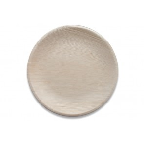 Palmblad bord rond 25 cm