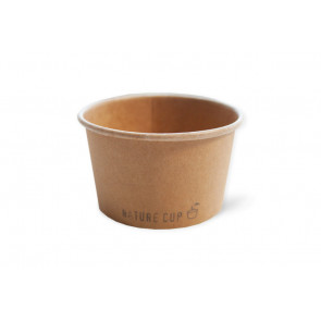 Nature ice cream cup 5oz / 150ml, kraft