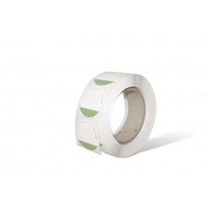 Composteerbare beschrijfbare sticker