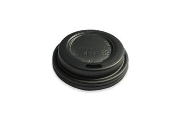 Deckel schwarz für Kaffeebecher 4oz/120ML