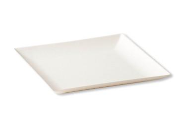 BioChic quadratischer Teller 18 x 18 cm