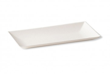 BioChic rechteckiger Teller 9 x 18 cm