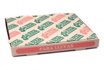 Pizzaschachtel, 32 x 32 cm