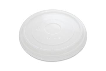 Transparenter Deckel, flach (PLA) für Schale 12-32oz / 360-950ml