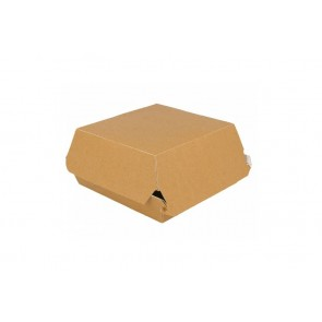 Hamburger-Box, Kraft 14 cm