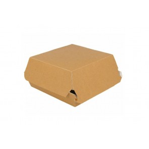 Hamburger-Box, Kraft 15 cm