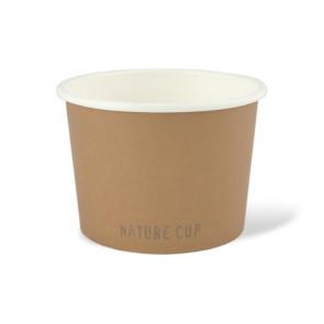 Nature Suppenschale, PLA-beschichtet 16oz/ 450 ml