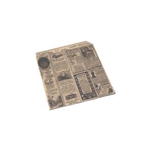 Hamburger Tüte, klein, fettabweisendes Papier, TIMES 13 x 14 cm