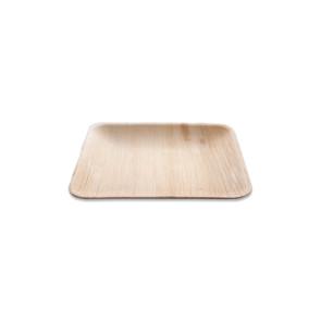 Palmblatt Teller quadratisch 16cm