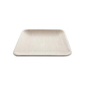 Palmblatt Teller quadratisch 20cm