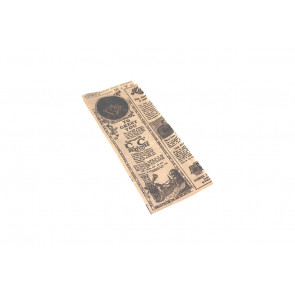 Hotdog Papier, fettabweisend, TIMES 9+3 cm (Seitenfalte) x 22 cm