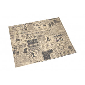 Fettabweisendes Papier, rechteckig, groß, TIMES 31 x 38 cm