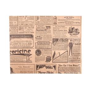 Fettabweisendes Papier, klein, TIMES 20 x 25 cm