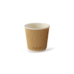Nature doppelwandiger Kaffeebecher 4oz/120ml