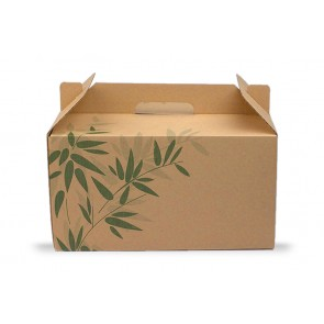 Take Away box mit Handgriff