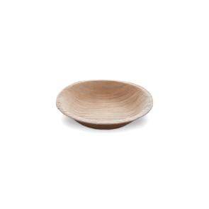 Feuilles de palmier assiette ronde 10 cm