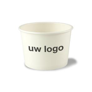 Bol à soupe / coupe à glace, revêtement PLA 16 oz (450ml) | EB