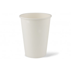 Bol à soupe blanc / Coupe à glace, revêtement PLA 32 oz (950ml)