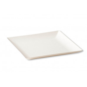 Assiette BioChic carrée 18 x 18 cm