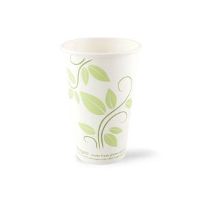 Gobelet à café revêtement PLA 450ml/ 16oz